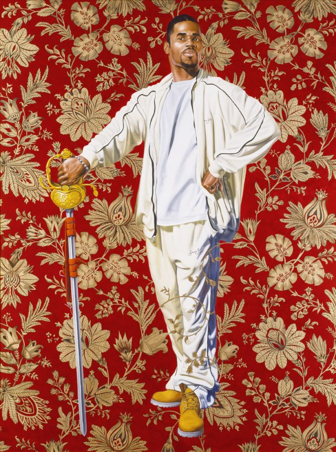 Kehinde Wiley, Willem van Heythuysen, 2006 © Virginia Museum of Fine Arts Obama's Official Portraits