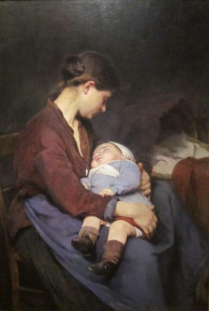 """Elizabeth Nourse the premier woman artiste Elizabeth Nourse's """"La mère"""" (The Mother), 1888, oil on canvas, Cincinnati Art Museum. (Photo: Cincinnati Art Museum)"""