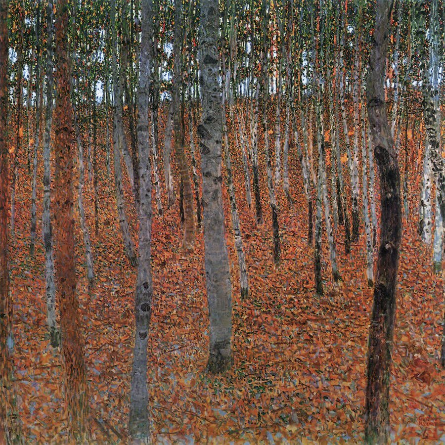 Klimt's Landscapes Forest of Beech Trees