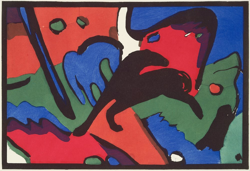 Der Blaue Reiter, Franz Marc and Wassily Kandinsky, published by R. Piper & Co, 1912, Museum of Fine Arts, Boston