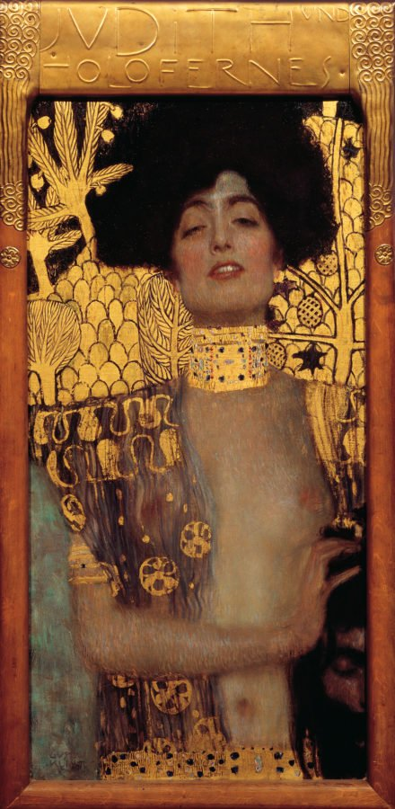 Why Is Klimt Famous: Gustav Klimt, Judith with the Head of the Holofernes, 1901, Österreichische Galerie Belvedere, Vienna