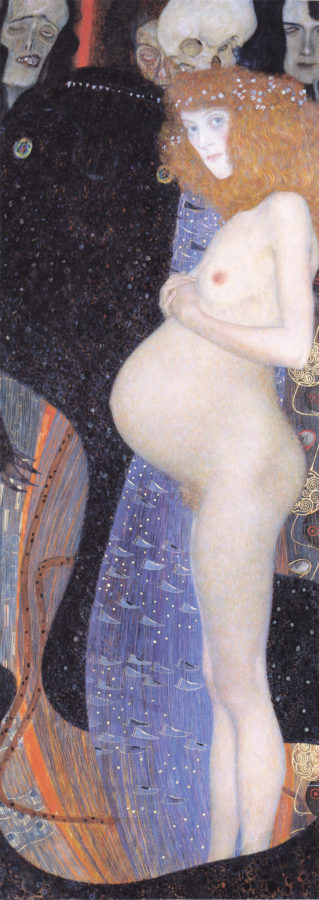 Why is Klimt Famous: Gustav Klimt, Hope I, 1903, National Gallery of Canada, Ottawa