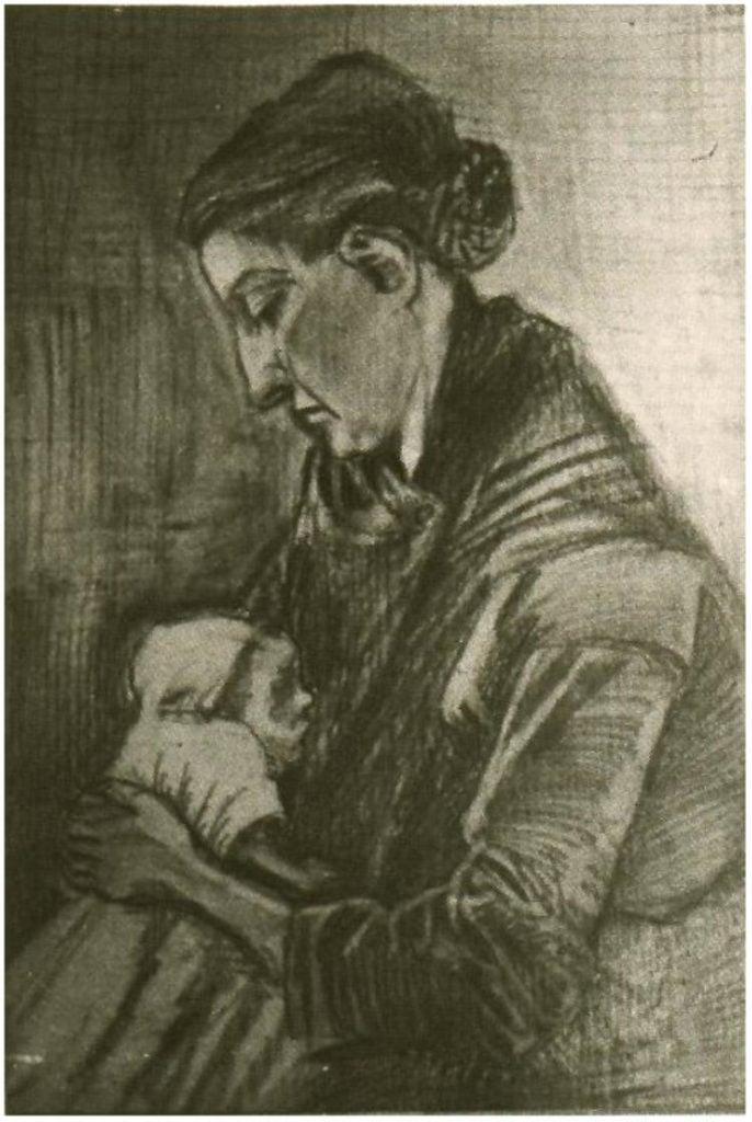 Vincent van Gogh, Sien Nursing Baby,