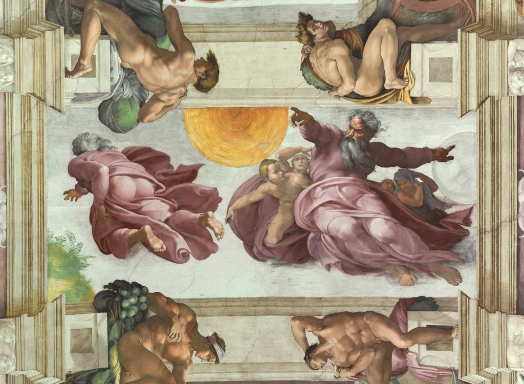 Michelangelo, The Creation of the Sun and the Moon, Facts about Sistine Chapel