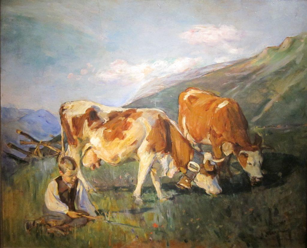Elizabeth Nourse the premier woman artiste The High Meadow, Cincinnati Art Museum