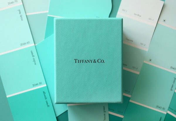 Tiffany Blue Color, painters trademarked colors