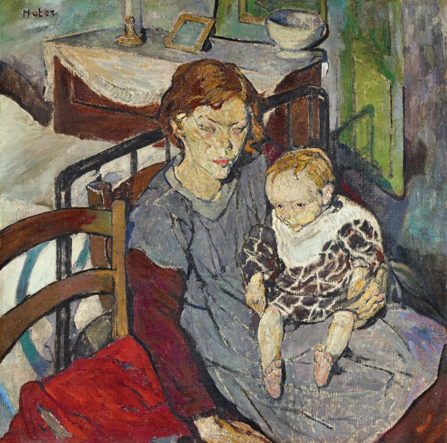 Maria Mela Muter, 2 Kinder (Two children), 1912, private collection.