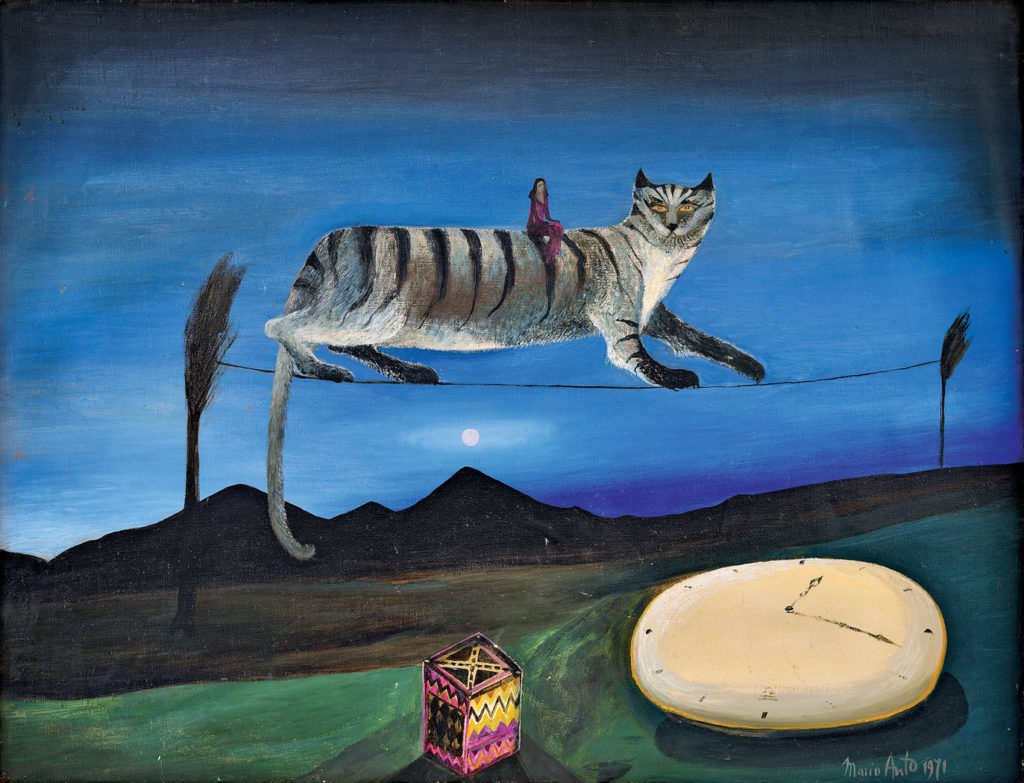 Cat, Maria Anto, 1974, location unknown (private collection?)