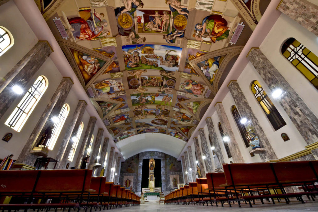 The Sistine Chapel replica in Mexico Facts about Sistine Chapel