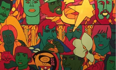 Isla 70 (Island 70), Raúl Martínez, 1970, Museo Nacional de Bellas Artes de la Habana, Pop Art and the Cuban Revolution