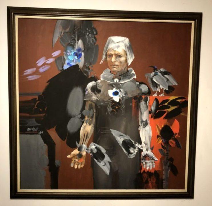 Augusto Rivera, Untitled, 1972. Acrylic on canvas. Museo de Arte Moderno de Cartagena, Colombia. Photo by Howard Schwartz.