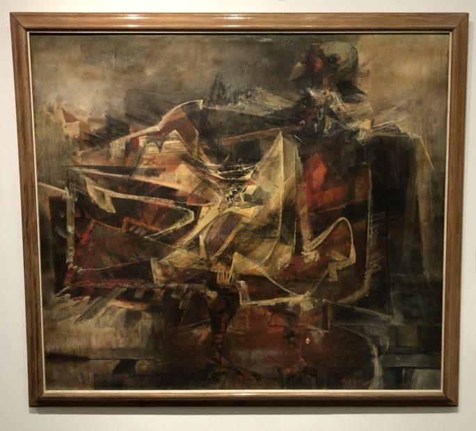 Alejandro Obregón, Condor, 1959. Oil on canvas. Museo de Arte Moderno de Cartagenia, Colombia. Photo by Howard Schwartz.