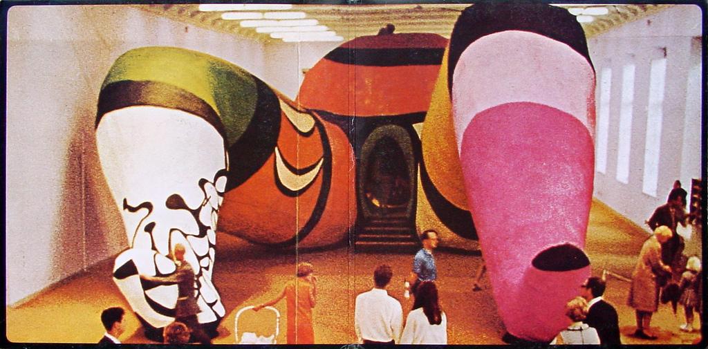 Niki de Saint Phalle, Hon (She), 1966, Moderna Museet, Stockholm.