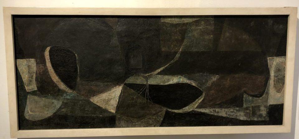 Armando Morales, Fruta Nocturna. Oil on canvas. Museo de Arte Moderno de Cartagena, Colombia. Photo by Howard Schwartz.