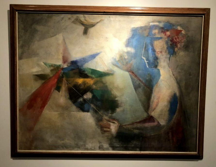 review of Museo de Arte Moderno in Cartagena Cecilia Porras, Rehilete, 1967. Oil on canvas. Museo de Arte Moderno de Cartagena, Colombia. Photo by Howard Schwartz.