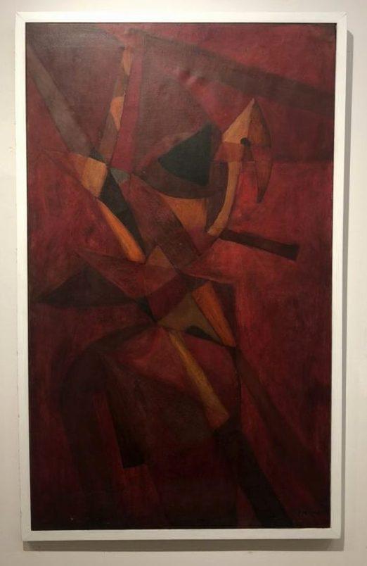 review of Museo de Arte Moderno in Cartagena Fernando de Szyszlo, Untitled, 1957. Oil on canvas. Museo de Arte de Cartagena, Colombia. Photo by Howard Schwartz.