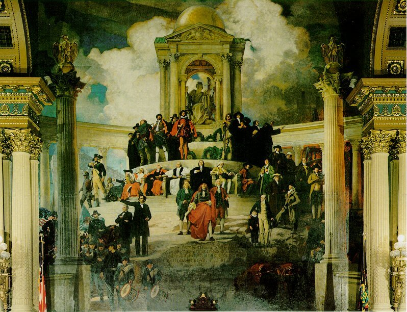 Apotheosis of Pennsylvania, Abbey's Shakespeare paintings