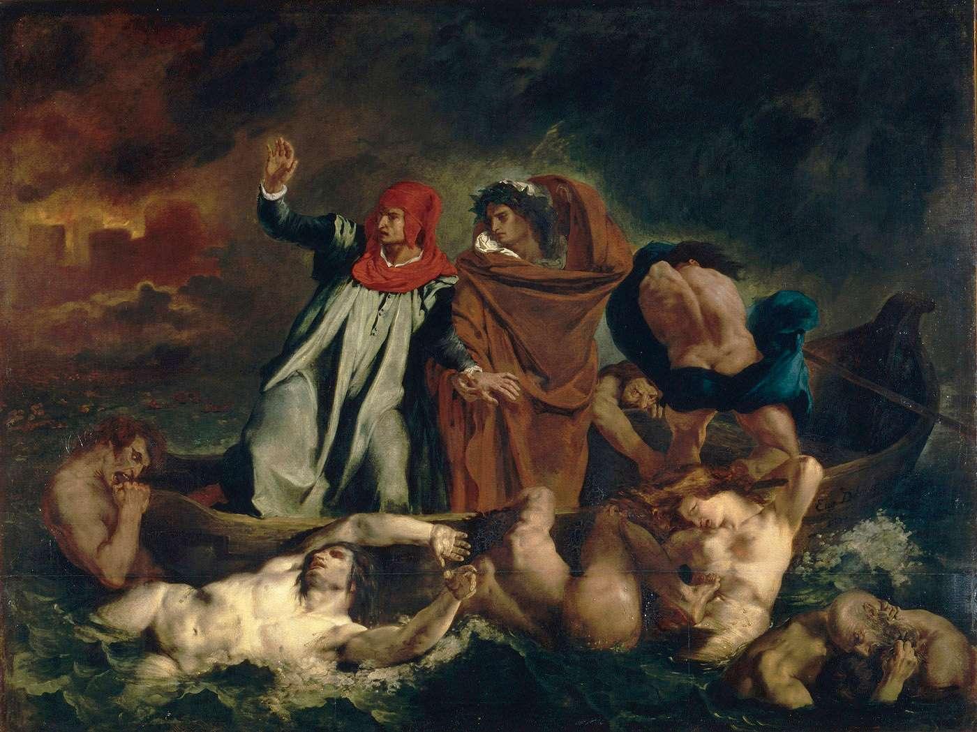Delacroix exhibition at the Louvre