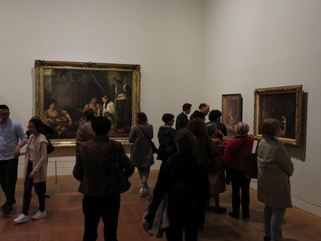 Delacroix Exhibition, Louvre Museum, Paris. Photo by Mr. Bacchus