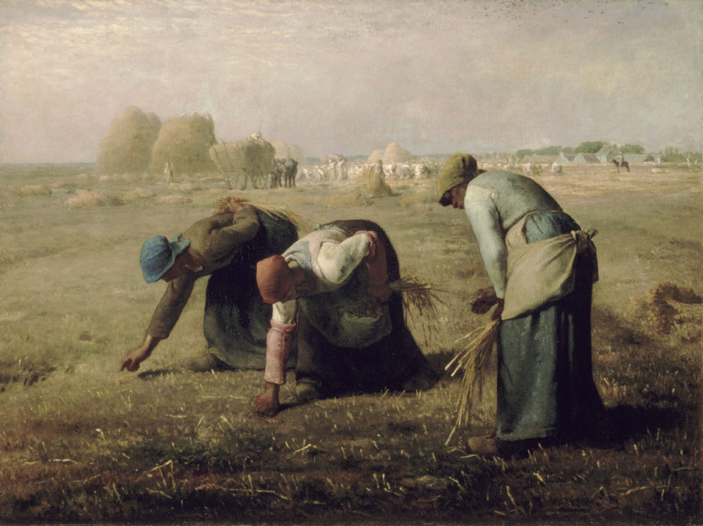 Jean-François Millet, The Gleaners, 1857, Musée d'Orsay Jobs in art which don't exist
