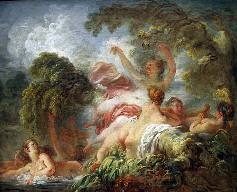 Things You Need To Know About Jean-Honoré Fragonard, The Bathers, circa 1765, Louvre Museum, Paris