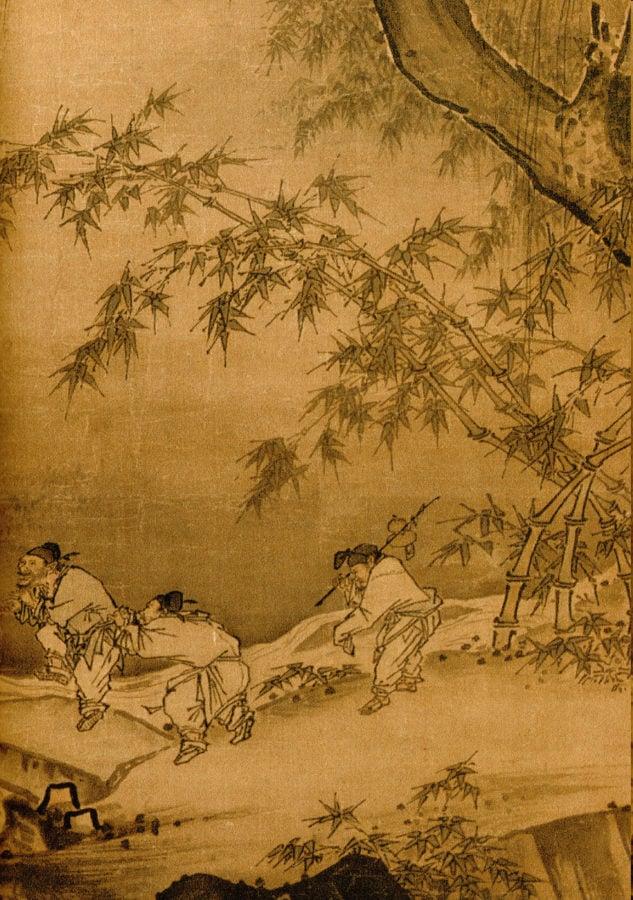Ma Yuan, Dancing and Singing Peasants Returning from Work, 1660-1225. genius artist Ma Yuan