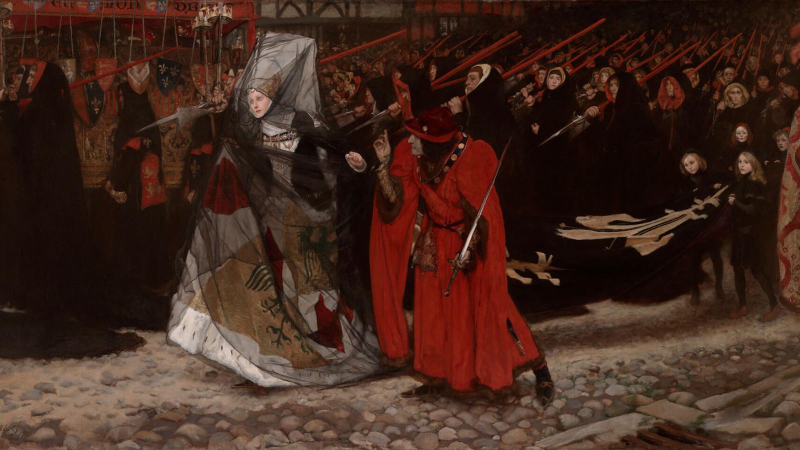 Richard III, Abbey's Shakespeare paintings