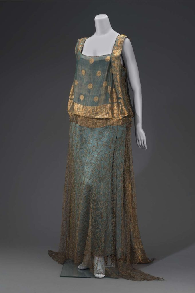 Woman's evening dress, first quarter 20th century, Museum of Fine Arts, Boston