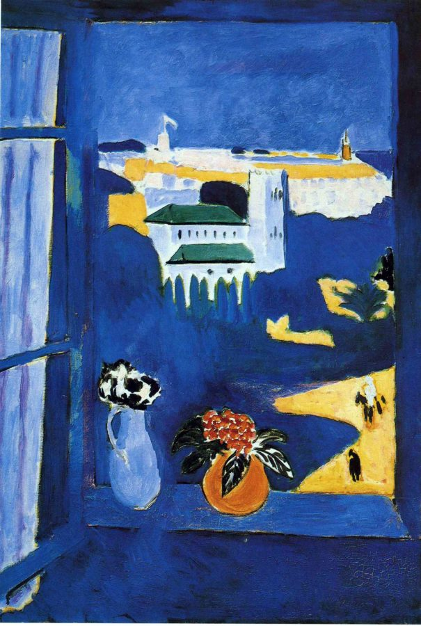 Matisse actually came to Morocco