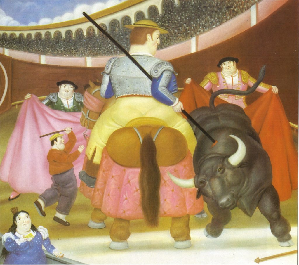 Fernando Botero, The Pica, 1984, Botero's Guide to Colombian History