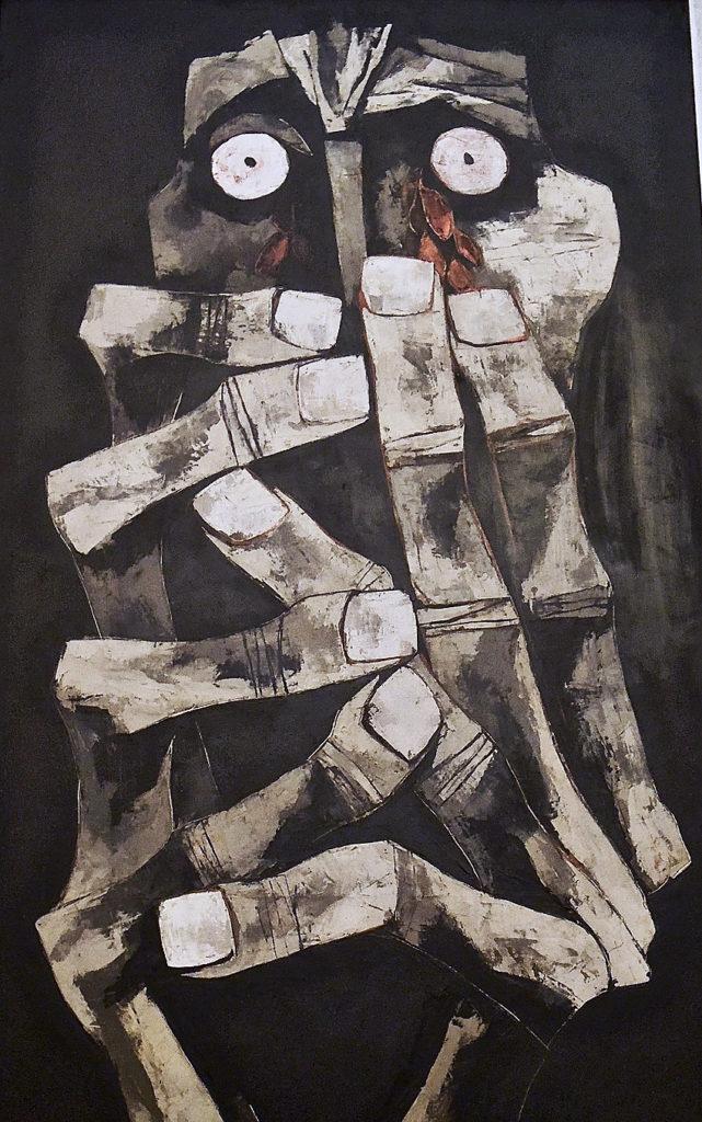 Lágrimas de sangre (Tears of Blood), Oswaldo Guayasamín, 1973, oswaldo guayasamín art