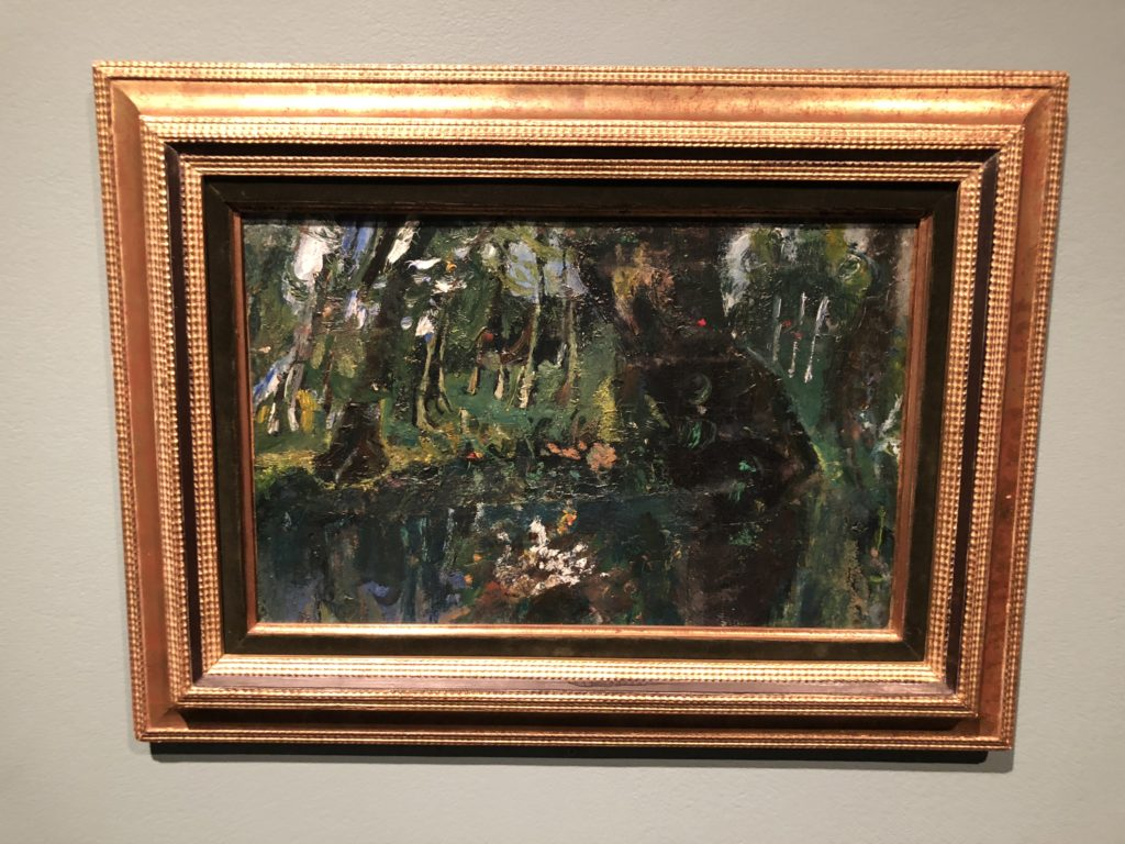Soutine's Exhibition at the Jewish Museum