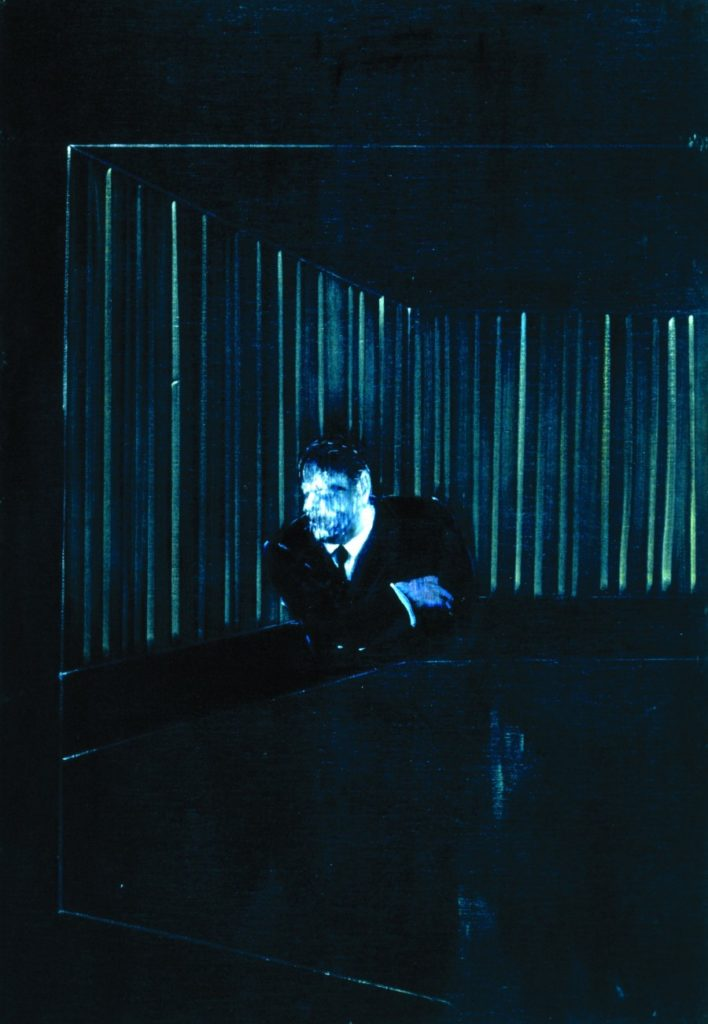 The Man in Blue Francis Bacon, Man in blue I, 1954, Museum Boijmans Van Beuningen, © The Estate of Francis Bacon. All rights reserved, DACS/Artimage 2018