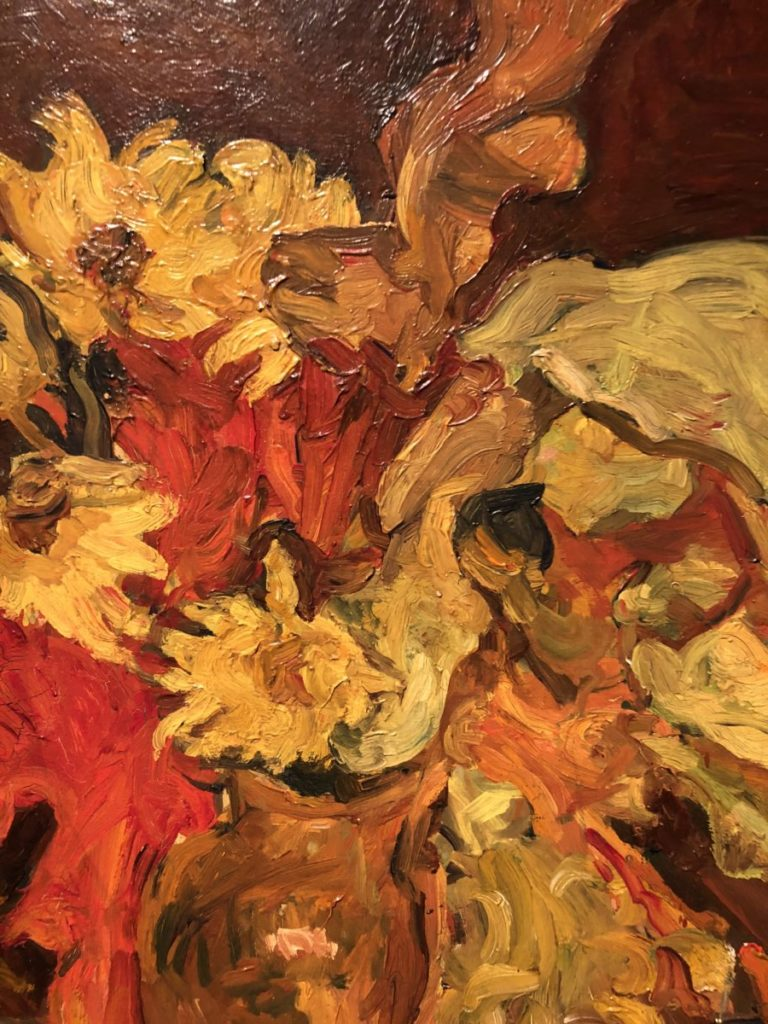 Soutine's Exhibition at the Jewish Museum Chaim Soutine, Flowers and Fruit,