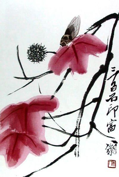 Qi Baishi, Cicada , between circa 1864 and circa 1957, source: Wikimedia Commons