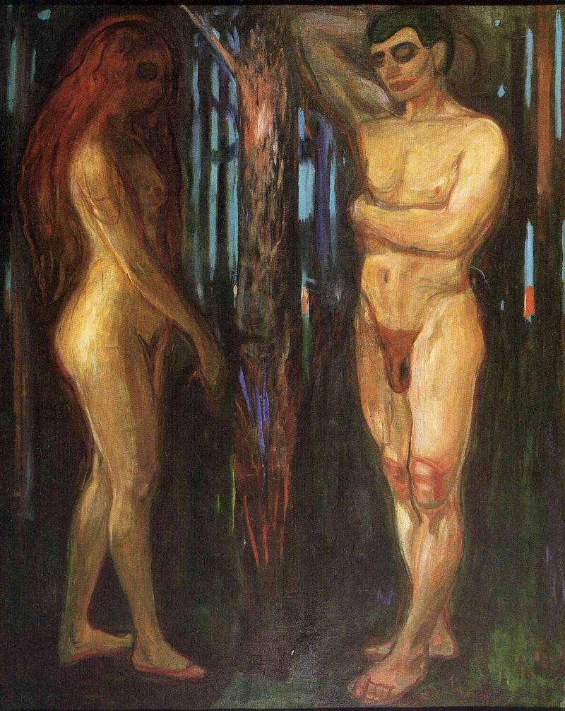 Edvard Munch, Metabolism, 1898, Munch Museum, Oslo Munch and the Frieze of Life
