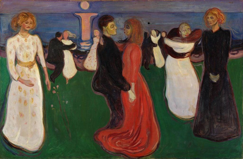 Edvard Munch: The Dance of Life (1899-1900) Nasjonalgalleriet, Oslo