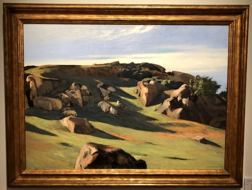 Edward Hopper, 'Cape Ann Granite,' 1928. The Art Collection of Peggy and David Rockefeller