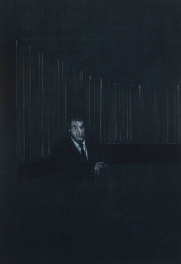Francis Bacon, Man in Blue V, 1954, Kunstsammlung NRW, Man in Blue by Francis Bacon
