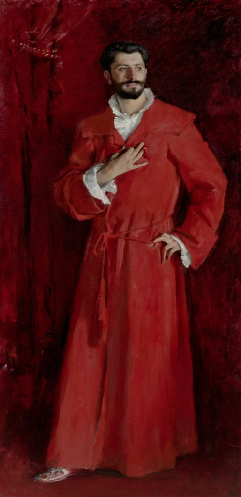 Dr. Pozzi John Singer Sargent, Dr. Pozzi at Home, 1881, Metropolitan Museum of Art Dr. Pozzi by John Singer Sargent