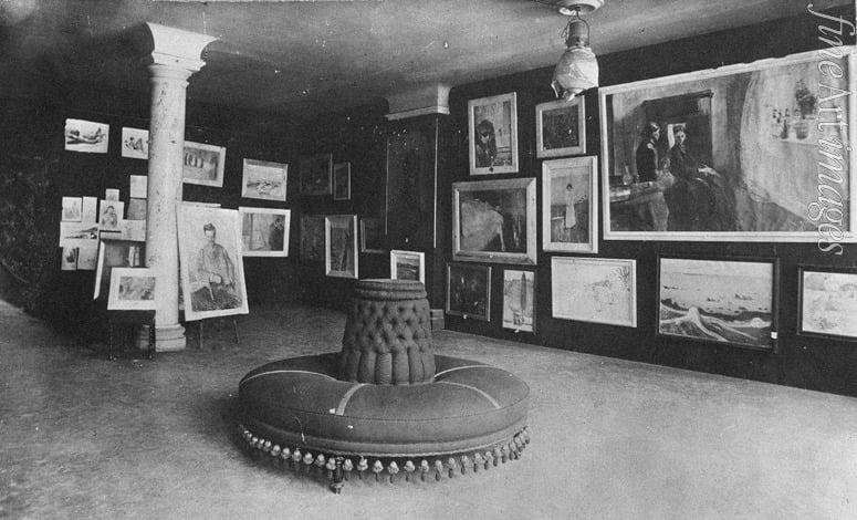 Max Marschalk, Munch's exhibition in Equitable Palast in Berlin, December 1892, Munch Museum, Oslo