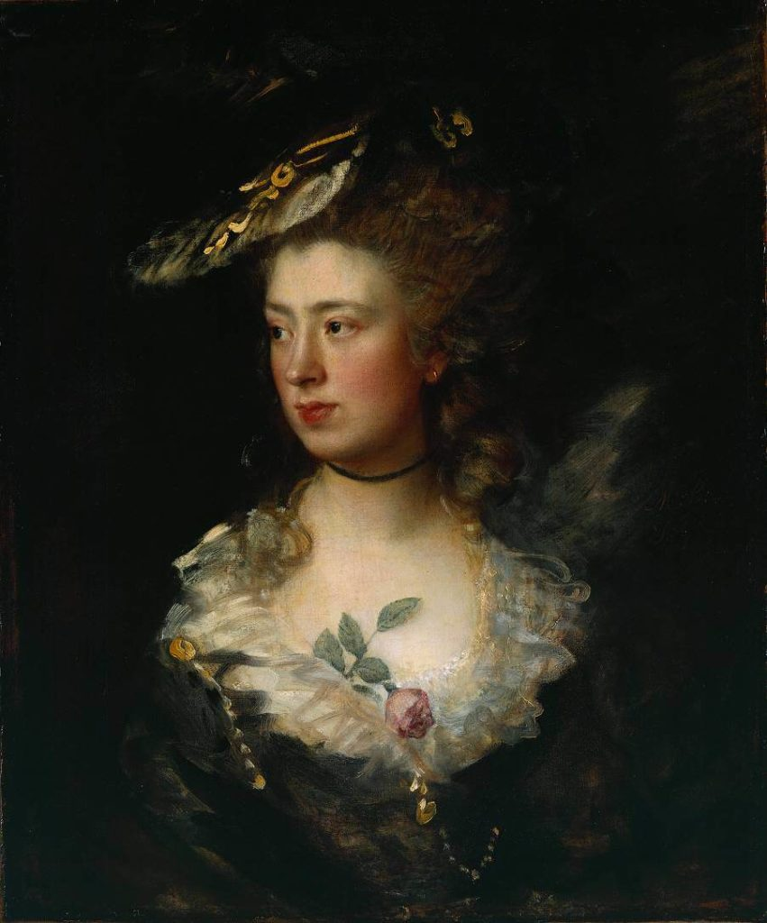 Gainsborough's daughters Mary