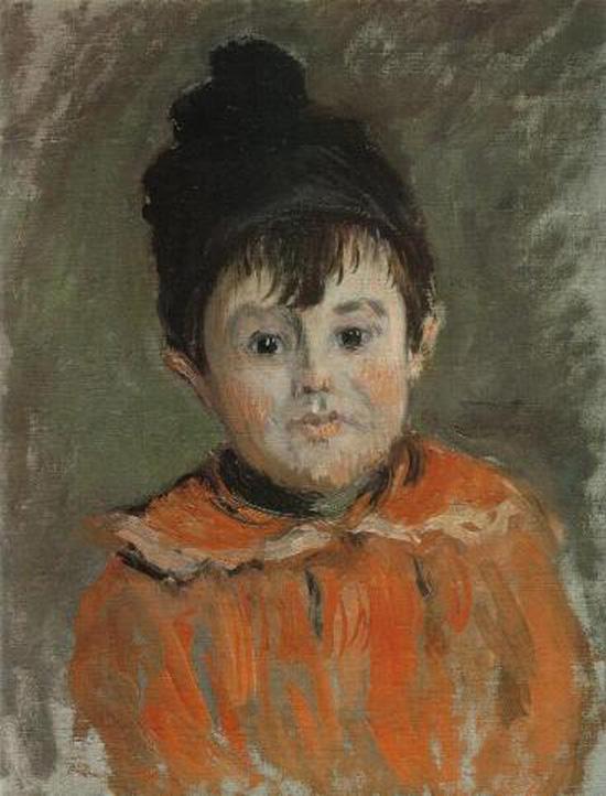 Claude Monet, Portrait of Michel in a Pompom Hat, 1880, Musée Marmottan Monet, Paris