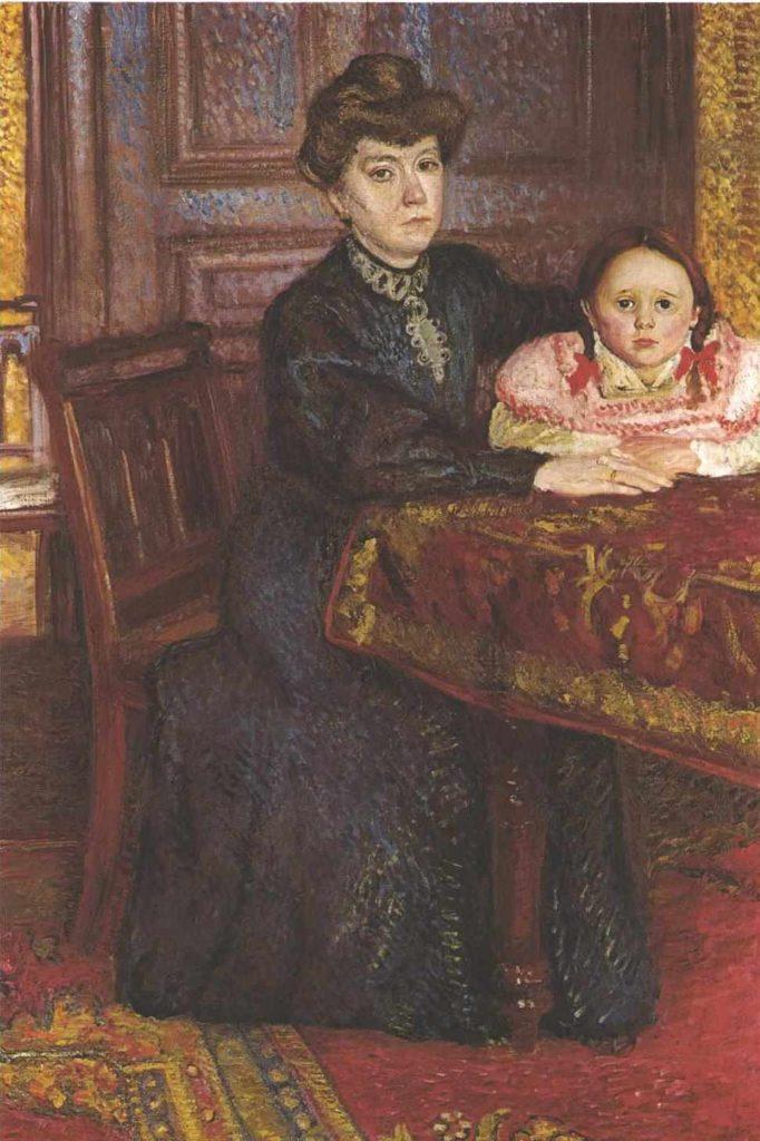 Richard Gerstl, Double portrait of Matilda and Gertrude Schonberg, 1906 Richard gerstl's art