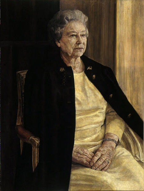 Anthony Williams, Portrait of Elisabeth II, 1996 British royal portrait  British royal portraits