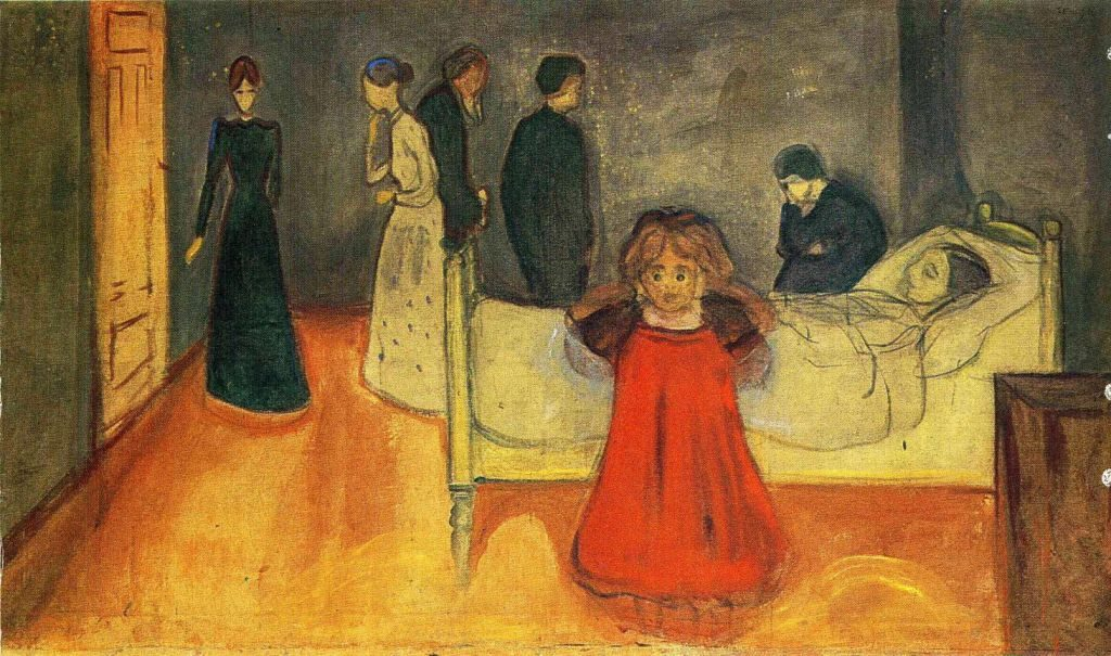 Edvard Munch, Dead Mother and Child, 1893-9, Munch Museum, Oslo Munch and the Frieze of Life