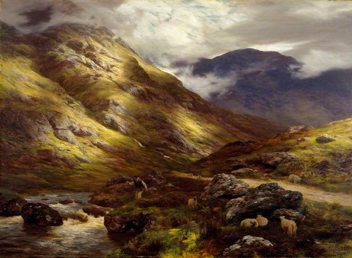 Five Things Everyone Should Know About the Victorians: Peter Graham, Wandering Shadows, 1878, National Galleries of Scotland, Edinburgh, Scotland, UK.