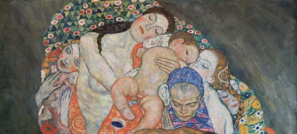 Gustav Klimt Death and Life