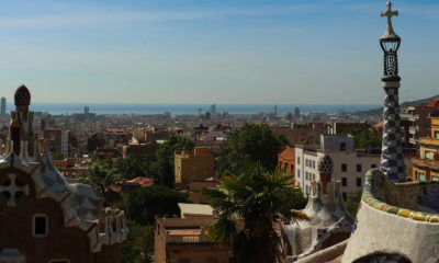 View of Barcelona from Park Güell , 2018, Photograph by Filip Grass, Antoni Gaudí's Barcelona
