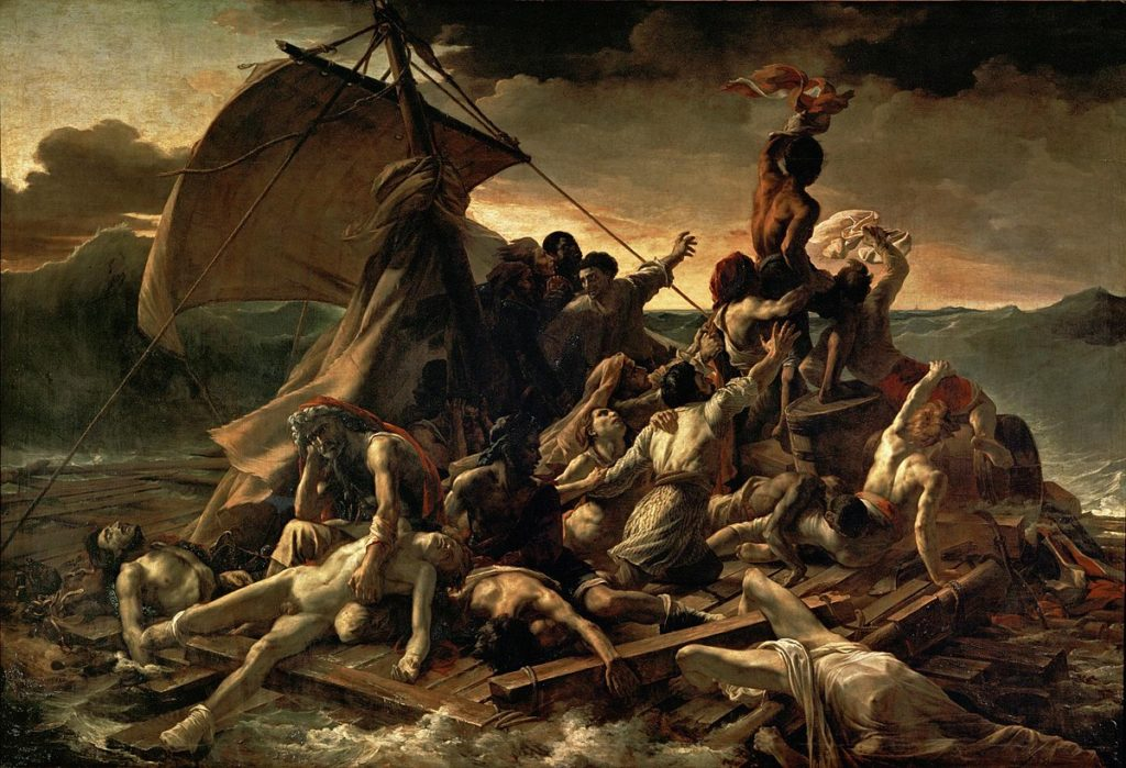 Beyonce Jay-z Louvre video Théodore Géricault, The Raft of the Medusa, 1818–1819, Musée du Louvre
